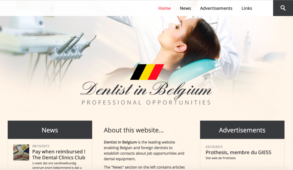 Dentist in Belgium : une publication de Securimed